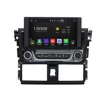 Cortex A9 HD 1024*600 Quad Core 1.6G CPU 16GB Flash Android 5.1.1 Car DVD Player Radio GPS Navi Stereo for Toyota Yaris 2014