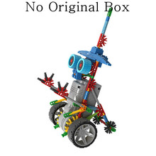 118/125pcs Electric Robots Model Building Kits Plastic Blocks Education Hobbies Assembly Toys For Children Boys > 8 Years Old(China (Mainland))