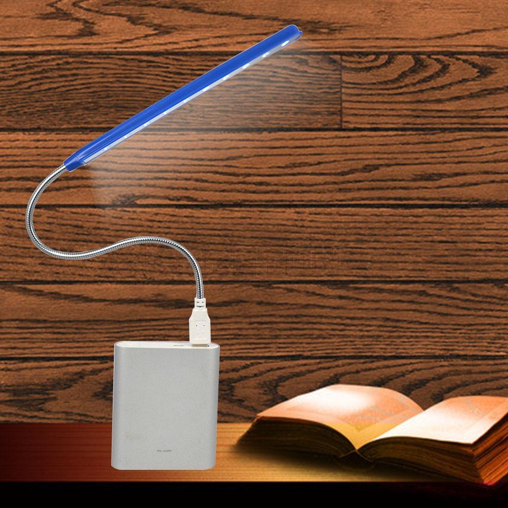 Fashion Mini Flexible 10 LEDs USB Light Computer reading Lamp for Notebook Laptop Computer Desktop PC Keyboard Wholesale(China (Mainland))