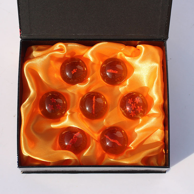 Dragon ball 4.5cm 7 star crystal ball 7pcs/set FS Promotion Japan Anime star ball