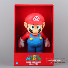"""Buy Free Super Mario Bros Mario PVC Action Figure Collection Toy Doll 9"""" 23cm New Box SMFG221 for $15.95 in AliExpress store"""
