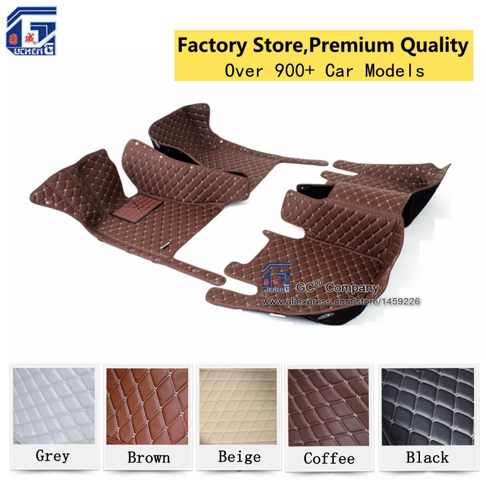 Microfiber Leather Premium Quality Custom Fit Car Floor Mat for Mercedes-benz<br><br>Aliexpress