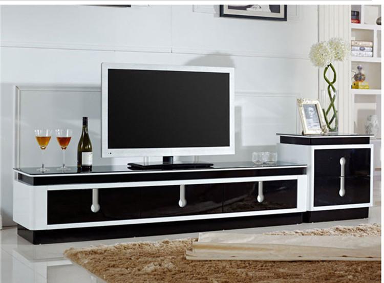 Living room furniture minimalist modern tv cabinet tv for Muebles salon tv modernos