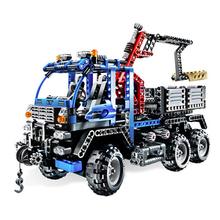 Decool 3331 Technic Road Truck building bricks Toys children Game Model Car Gift Compatible Lepin Bela 8273 - Joyer store