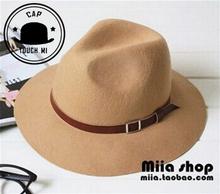 Summer style cap autumn and winter  female fashion wool sun-shading bucket hats  chapeu kentucky derby hats(China (Mainland))