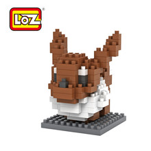 LOZ Pokemon Go Blocks Minifigure educational toys blocks Nano Block DIY Pikachu Charmander Figure Model Toys Miniature Diamond(China (Mainland))