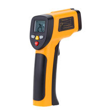 Professional Non-contact Digital Infrared Thermometer IR Temperature Laser Gun Diagnostic-tool Tester Pyrometer Range -55~650C(China (Mainland))
