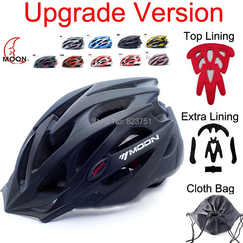 MOON Upgrade Model 2015 Bicycle Helmet Insect Net Cycling Helmet Ultralight Integrally-molded Road Mountain Bike Helmet (TK-11)(China (Mainland))
