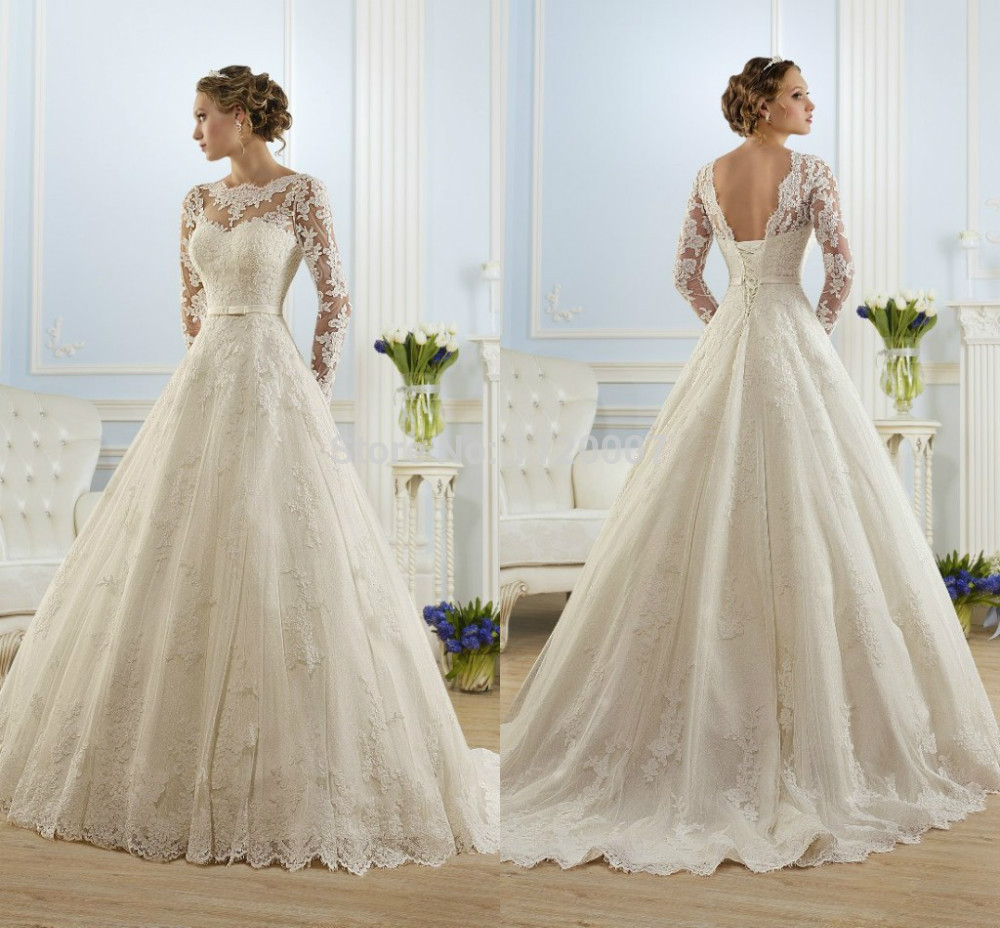 Luxury income vestido de noiva 2015 vintage ball gown for Vintage ball gown wedding dresses
