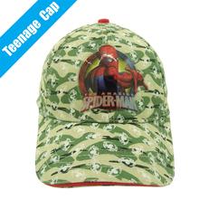Cartoon Amazing Super Hero Gorras Spider-man Hat Spiderman Baseball Cap for Teenagers Boys and Girls Full Of Camouflage Printing(China (Mainland))
