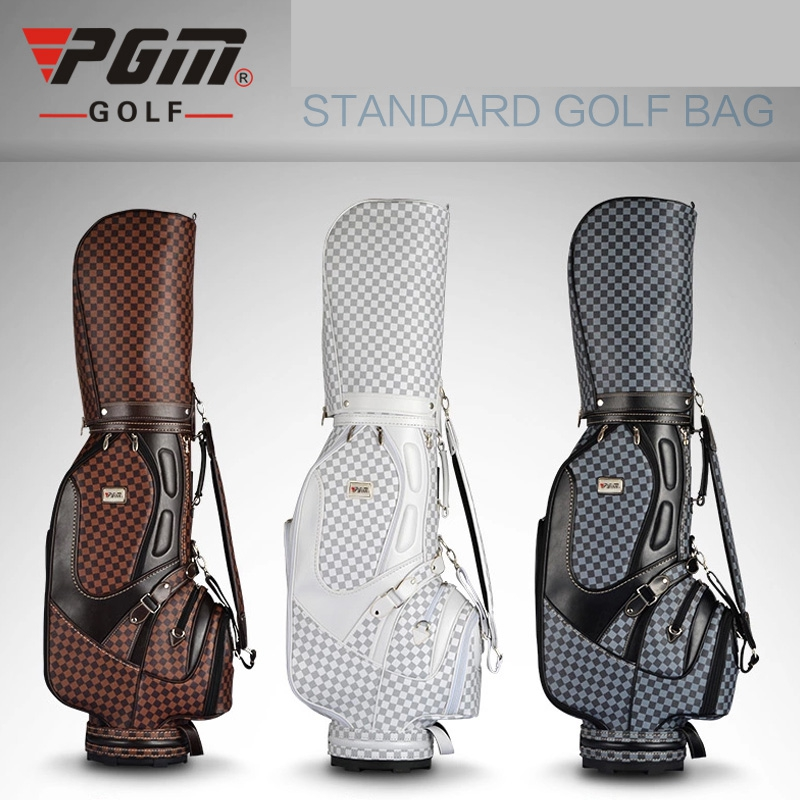brand PGM Golf stand cart caddy bag golf rain covers plaid Vintage bag Super Anti-Friction PU. Most popular brand golf in China(China (Mainland))