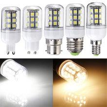 Buy 3W LED Light Bulb E27 G9 E14 B22 Gu10 27 SMD 5050 Energy Saving Corn Light Spotlight Bulb Lamp Pure Warm White DC AC 12V for $1.98 in AliExpress store