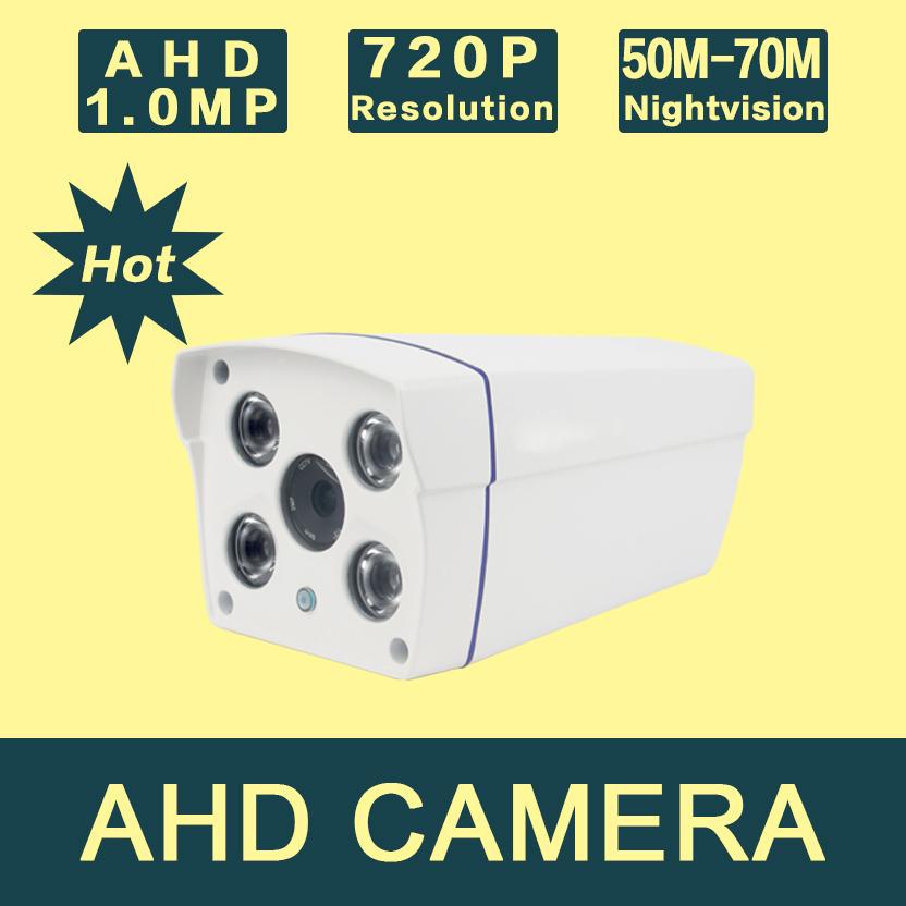 AHD4100UC-B3 Free Shipping  Hot Sale 1.0MP 720P HD Box AHD CCTV Camera Megapixel 4pcs IR LED security camera<br><br>Aliexpress