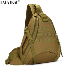 Men Messenger Bags Outdoor Sport Tactical Cross Shoulder Bag High Quality Nylon Men Chest Bag Hunting