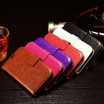 10pcs/lot Luxury Paint Edge Crazy Horse Pattern PU Leather Case Back Cover For Samsung Galaxy Xcover 3 G388F With Photo Frame