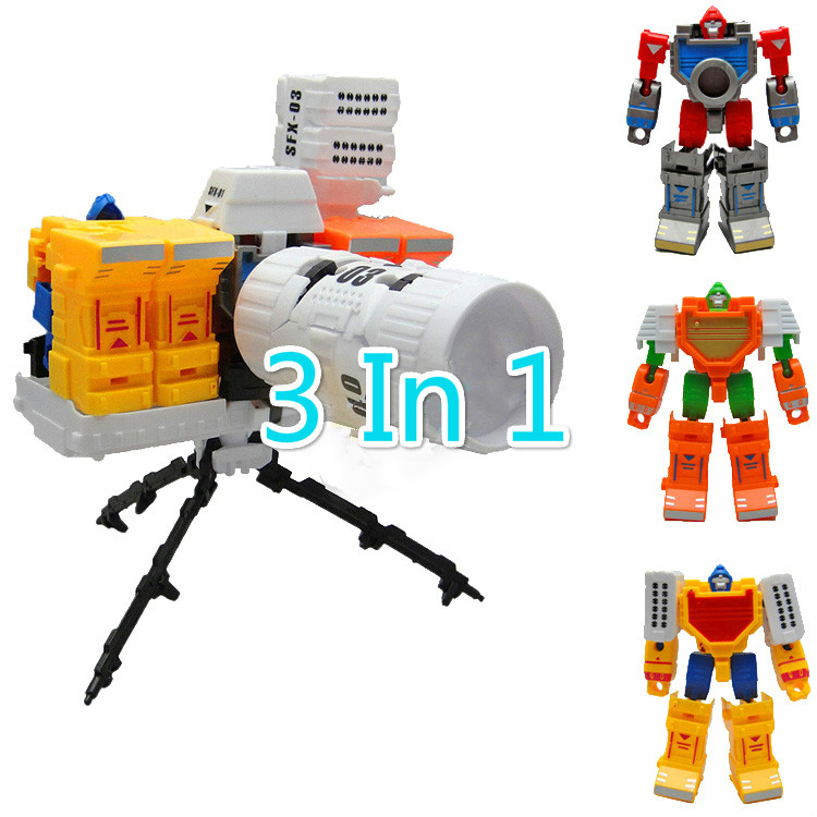 Robot For Big Boys Toys : In plastic camera deformation combine robot toys for