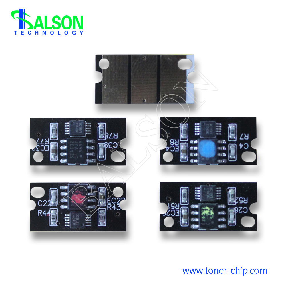 compatible laser reset printer chip for Minolta Magicolor 8650 color drum chip china manufacture(China (Mainland))