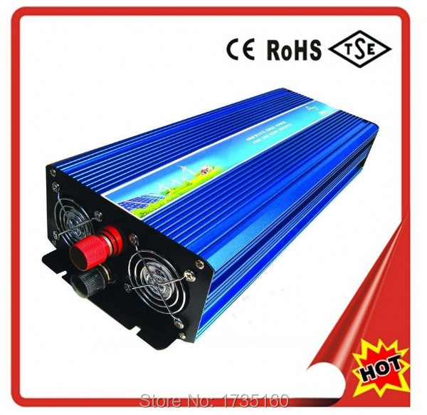 High Quality Goods 48v 5000w pure sine wave solar inverter with Doubel Digital Display Chinese Factory(China (Mainland))