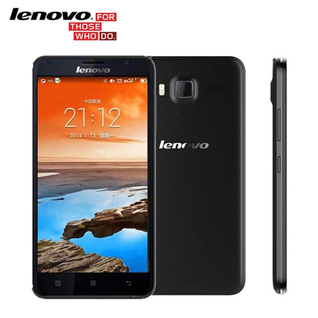 Оригинал Lenovo A916 5.5 дюймовый 4 Г LTE FDD 13MP Камара 3 Г WCDMA WIFI GPS MTK6592 Octa Ядро Мобильного Телефона Andriod 1 ГБ RAM 8 ГБ ROM