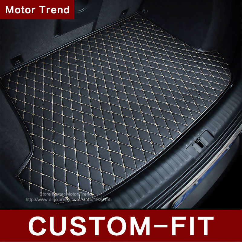 Custom fit car trunk mat for Audi A1 A3 A4 A6 A7 Q3 Q5 Q7 TT 3D car-styling heavy duty all weather tray carpet cargo liner<br><br>Aliexpress