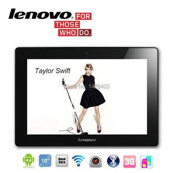3 г Lenovo планшет 10 дюймов четырехъядерных процессоров 2 г оперативной памяти 32 г ROM Phablet таблетки мтк GSM две сим-карты WIFI Android 4.4 телефон планшет PC 7 10.1
