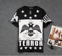 Париж команда misbhv 07 o шеи короткий рукав t рубашка любителей крест тройник хип-хоп мужчин t рубашки t128