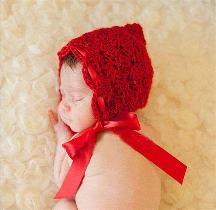2015 new Baby Girls Knitted Hat kids Photo Props Designs Infant Baby Photography Prop Costume Crochet Hat&Caps J27(China (Mainland))