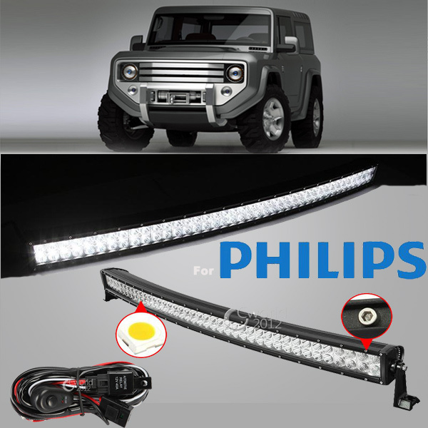 Система освещения Led light bar for Philips 42/240w Offroad Philips 12V/24V ATV 4 X 4 SUV система освещения brand new 50 288w offroad 4wd atv 4 x 4