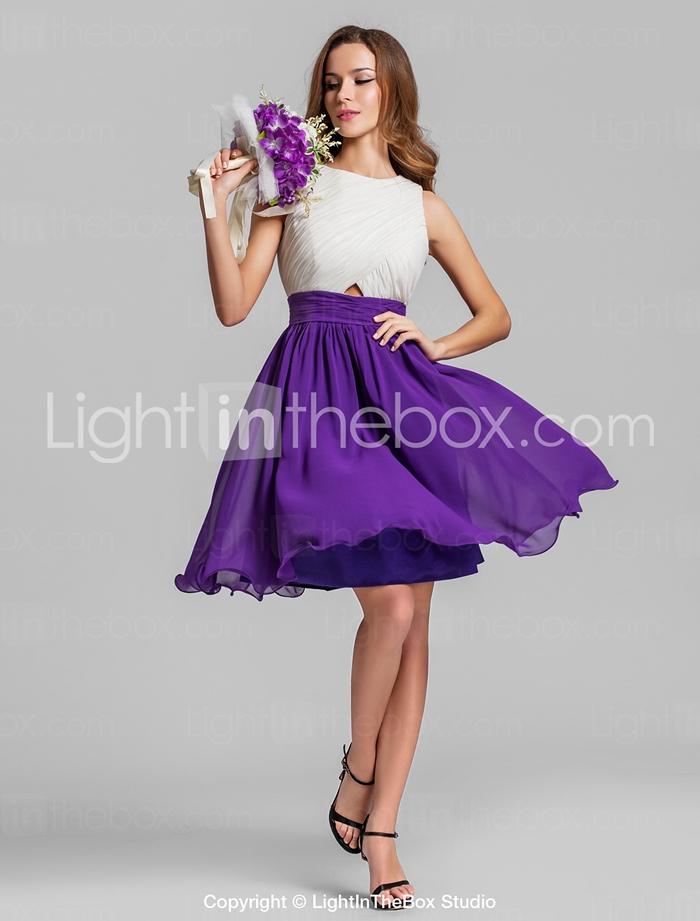 Bridesmaid Dress Knee Length