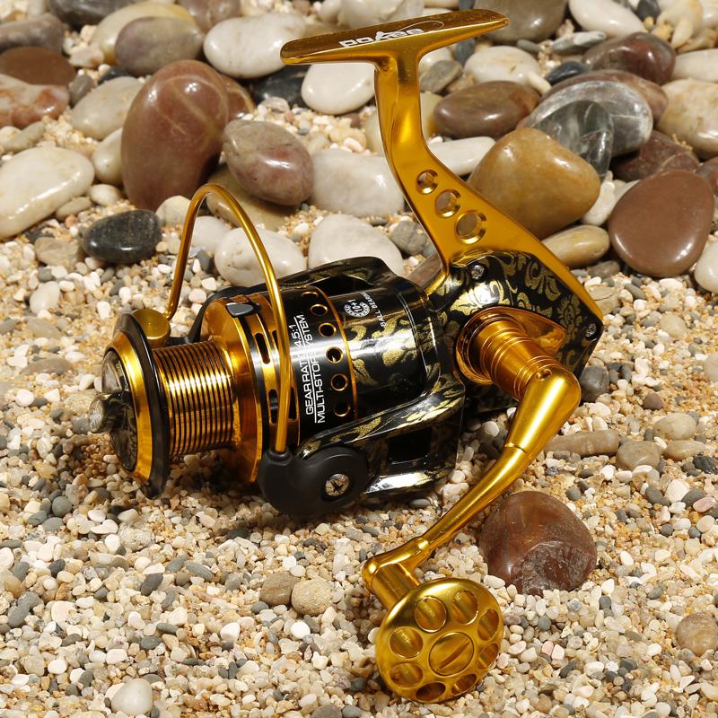 Катушка для удочки Explore more TG6000 10 + 1 BB 4.5:1 SWheel molinete pesca