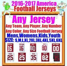 Custom Cheap Sports Jerseys 35 Eric Reid 42 Ronnie Lott 94 Justin Smith Torrey 25 Jimmie Ward Jersey Mens Youth Womens 5XL 6XL(China (Mainland))