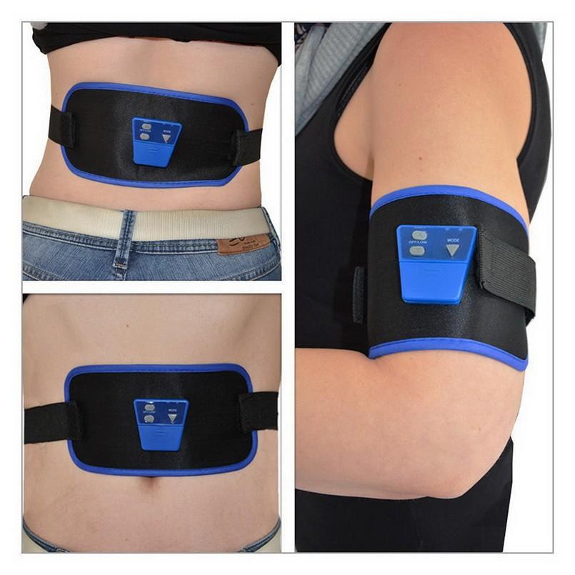 Fashion Belt AB Massage Slim Fit Gymnic Front Muscle Arm leg Waist AbdominalToning health care body massage Wholesale