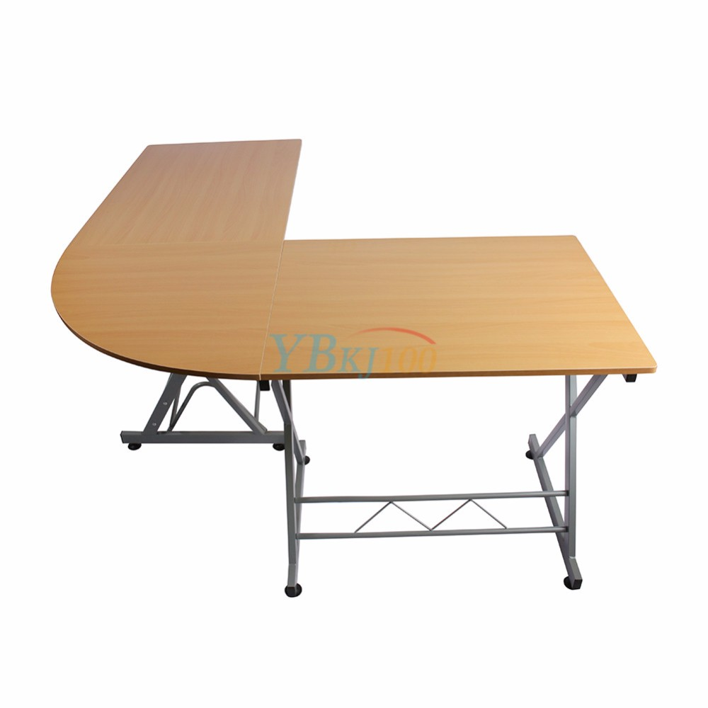 L Desk White For Your Dwelling Workplace ... Scorching Sale L-shaped PC Laptop Desk Desk Trendy Type Desk Dwelling  Research Workplace Furnishings ...