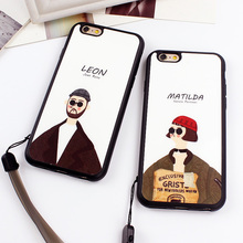 Buy Hot Movie Killer Leon Mathilda Mirror Surface Silicon Case iPhone 7 7 Plus 6 6s 6 Plus 5 5s SE Back Cover Case Fundas for $2.36 in AliExpress store