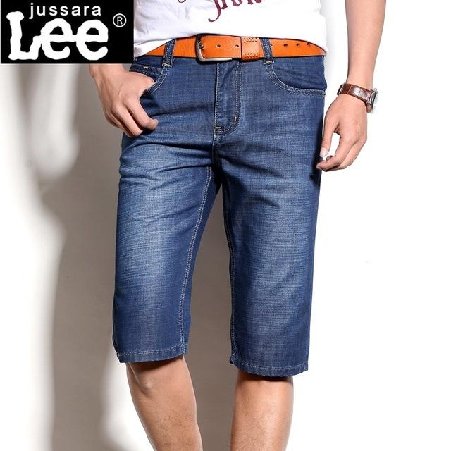 Известный бренд мужчин джинсы 2016 Летние Мужчины Короткие Джинсы Джинсовые Брюки ...