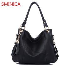 Buy famous designer women handbag tassel real Genuine Leather bag large ladies Shoulder bag Female big bag casual tote Crossbody Bag for $25.74 in AliExpress store