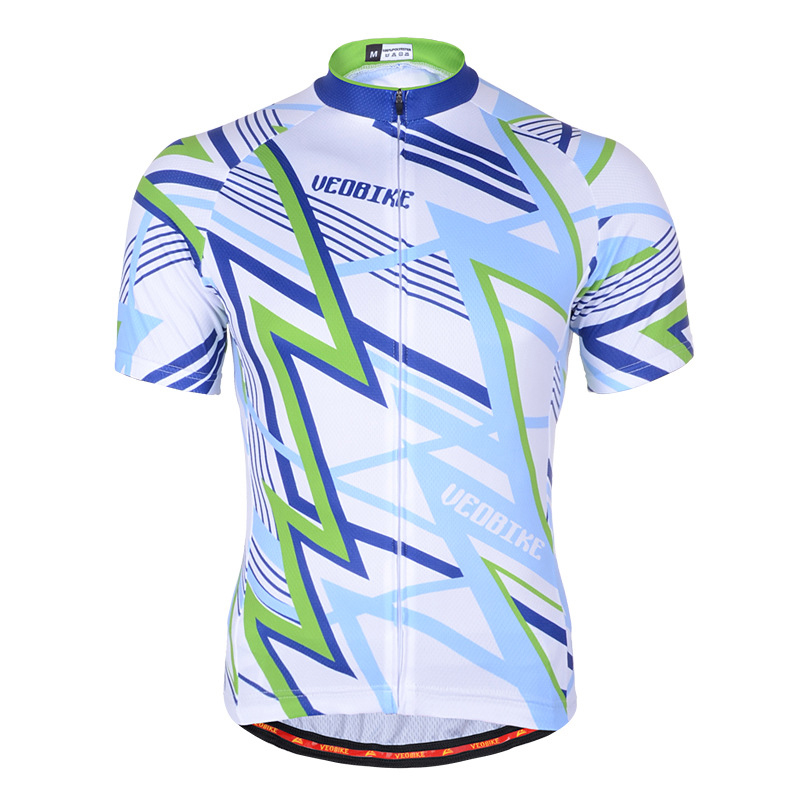 New Summer Style Fitness Wicking Cycling Jersey Printed Pattern Bike bicicleta Top Clothes Outdoor Sport Quick-Dry Shortsleeve(China (Mainland))