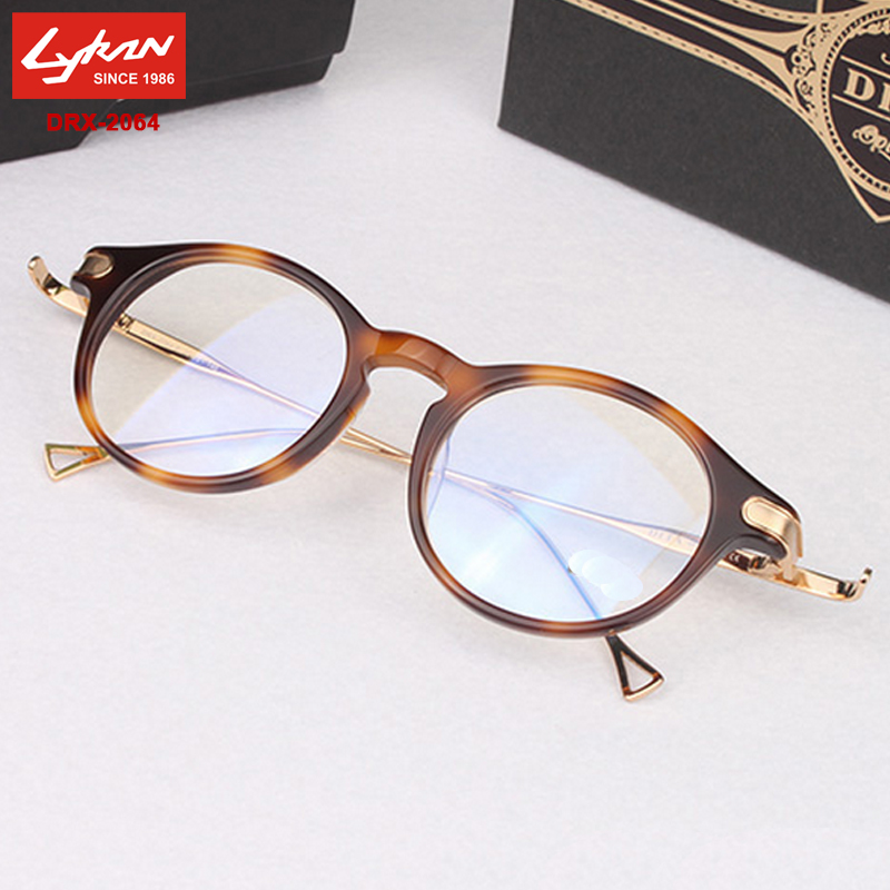 Glasses Frame New : New Glod Vintage Glasses Frame 2064 Eyelasses Frames For ...