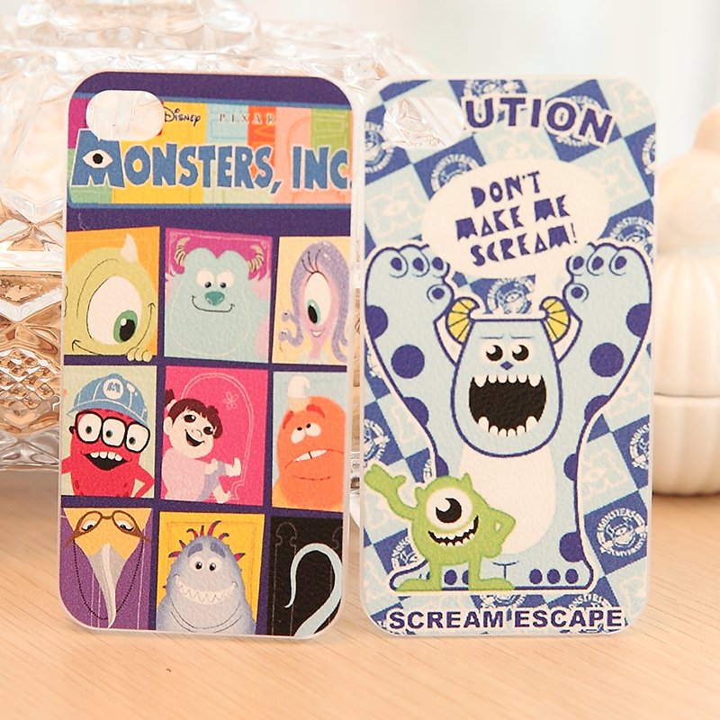 For iphone 4s aoid undesirable cartoon cell phone case for apple 4 mobile phone protective case(China (Mainland))
