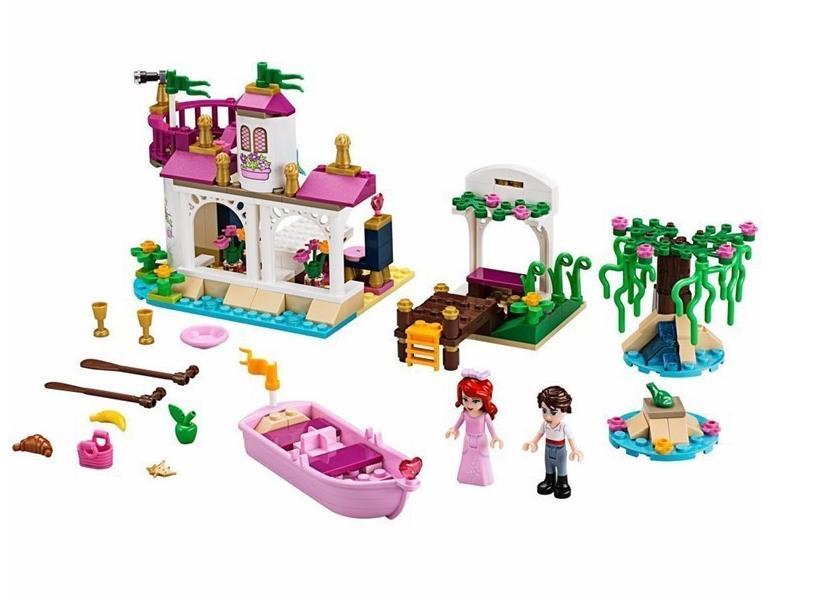 2016 New Girl Friends Princess Ariel's Magical Kiss Building Blocks Sets Bricks Toys Gifts Minifigures Compatible Legoe 41052(China (Mainland))