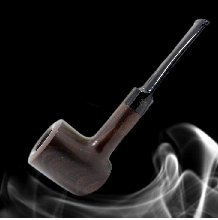 2015 Big Size Hammer Shape Wooden Tobacco Pipes Smoking Weed Pipes Durable Free Type Smoke Pipe