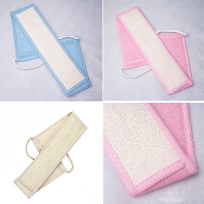 Low Price Stylish Loofah Bath Towel Pure Natural Loofah Strap Bath Shower Body Scrubber Brush Body Sponge(China (Mainland))