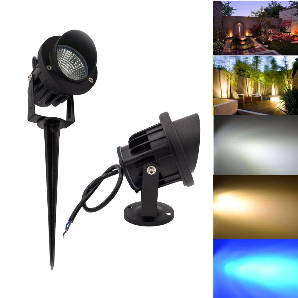 Led cob path flood spot light ip65 6w 10w 14w outdoor lawn - Spot led ip65 12v ...