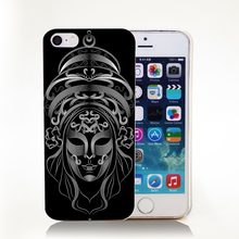 Queen mask black Hard Transparent Cover Case iPhone 4 4s 5 5s 5c 6 6s Protect Phone Cases - phone case Online Store 343535 store