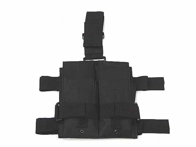 Tactical Molle Double M4 5.56mm Mag Magazine Pouch Bag For Airsoft Paintball Drop Leg Panel Utility Pouch Bag<br><br>Aliexpress