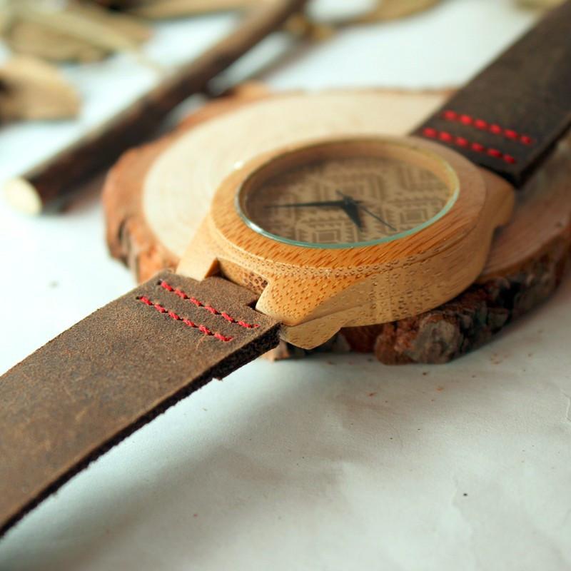 Новое Прибытие 2016 Довольно Древесины Majoy Наручные Часы Япония Движение Часы мужская Мода Бренд Дизайнер Бамбук Деревянные Часы