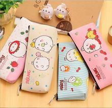 Korea Cartoon Potato molang Rabbit pencil bag/PENCIL CASE/ fashion stationery/ storage purse/Children's creative Gift(China (Mainland))