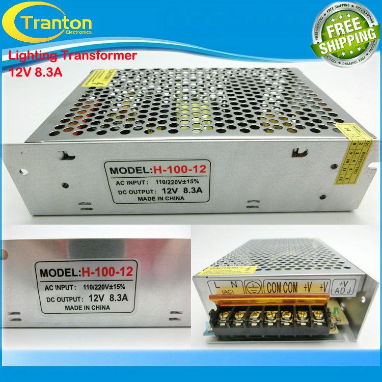 Гаджет  12V 8.3A 100W 110V-220V Lighting Transformers high quality safy Driver for LED strip 5050 5730 power supply None Свет и освещение