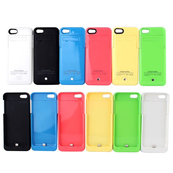 Case For iphone 5S 2500mAh External Backup Battery Case Extended Rechargeable Power Bank Cover Charger for Apple iPhone 5 5s 5c(China (Mainland))