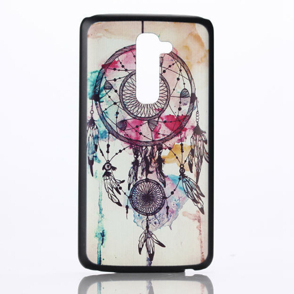 Printed Hard PC Back Cover Case For LG G2 In Stock(China (Mainland))